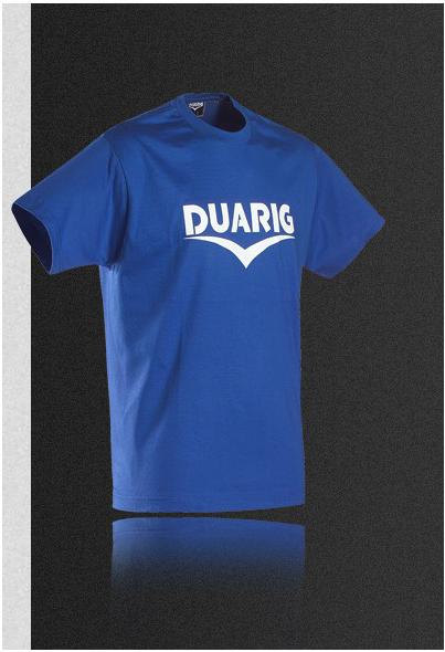 Tee shirt Coton Duarig Bleu