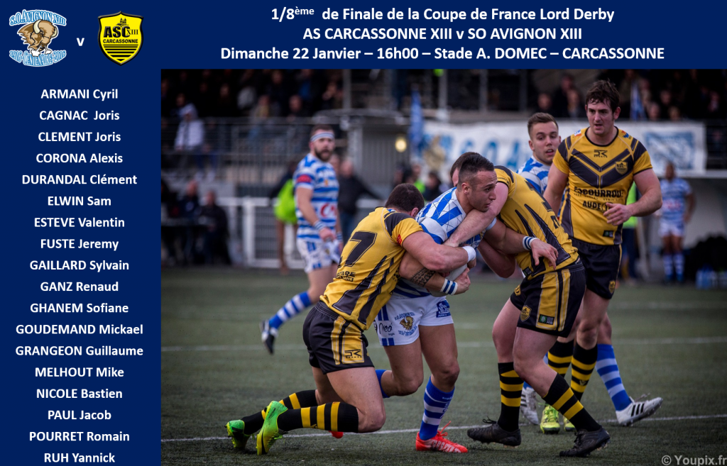 Squad Seniors v ASC XIII - Coupe de France