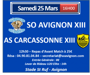 annonce match Carca web