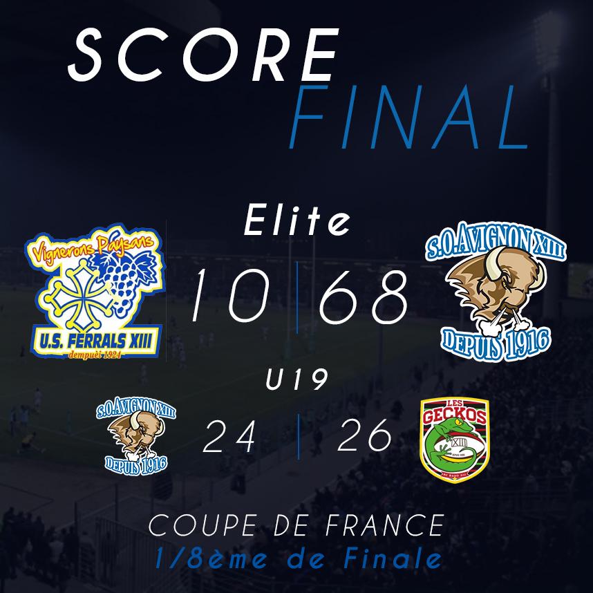 R sultats 1 8 me de finale de la coupe de france - Quart de finale de la coupe de france ...