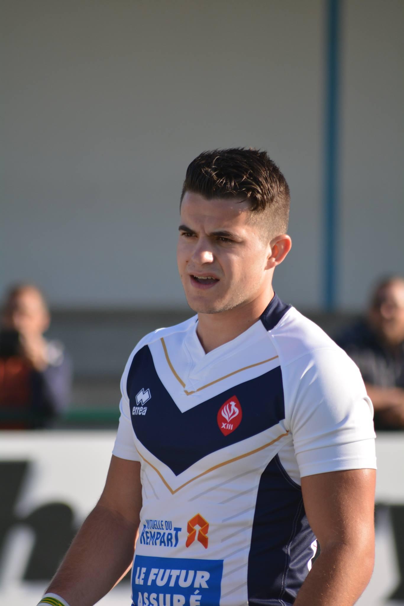 Joris Bissiere en équipe de France