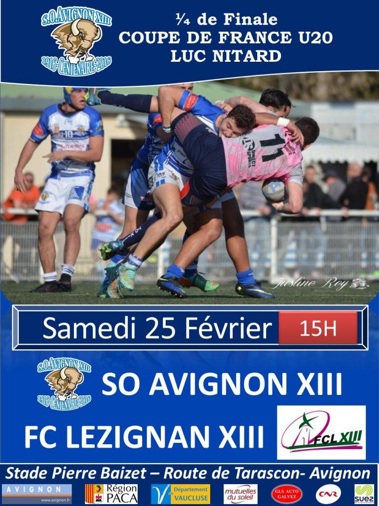 Affiche matchs 1-4 de Finale Juniors 2017