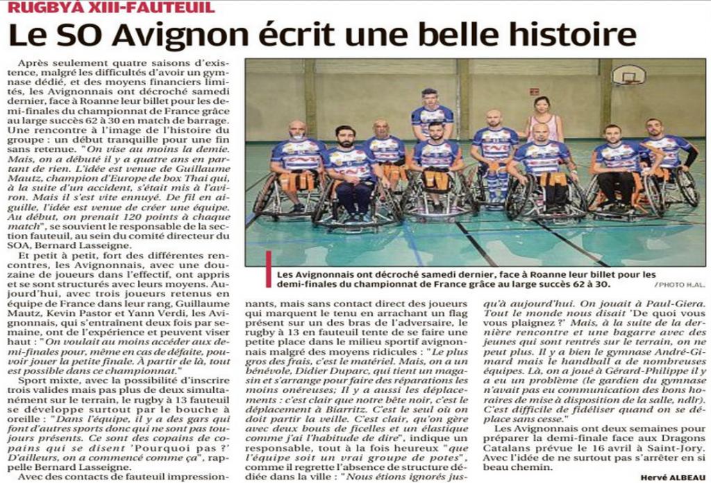 article la Provence XIII Fauteuil